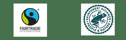 FairTrade and RF logo
