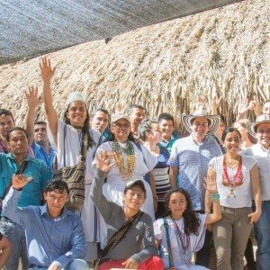 Warm welcome at Asoanei in the Sierra Nevada de Santa Marta