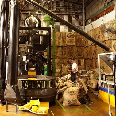 cafe moto roastery