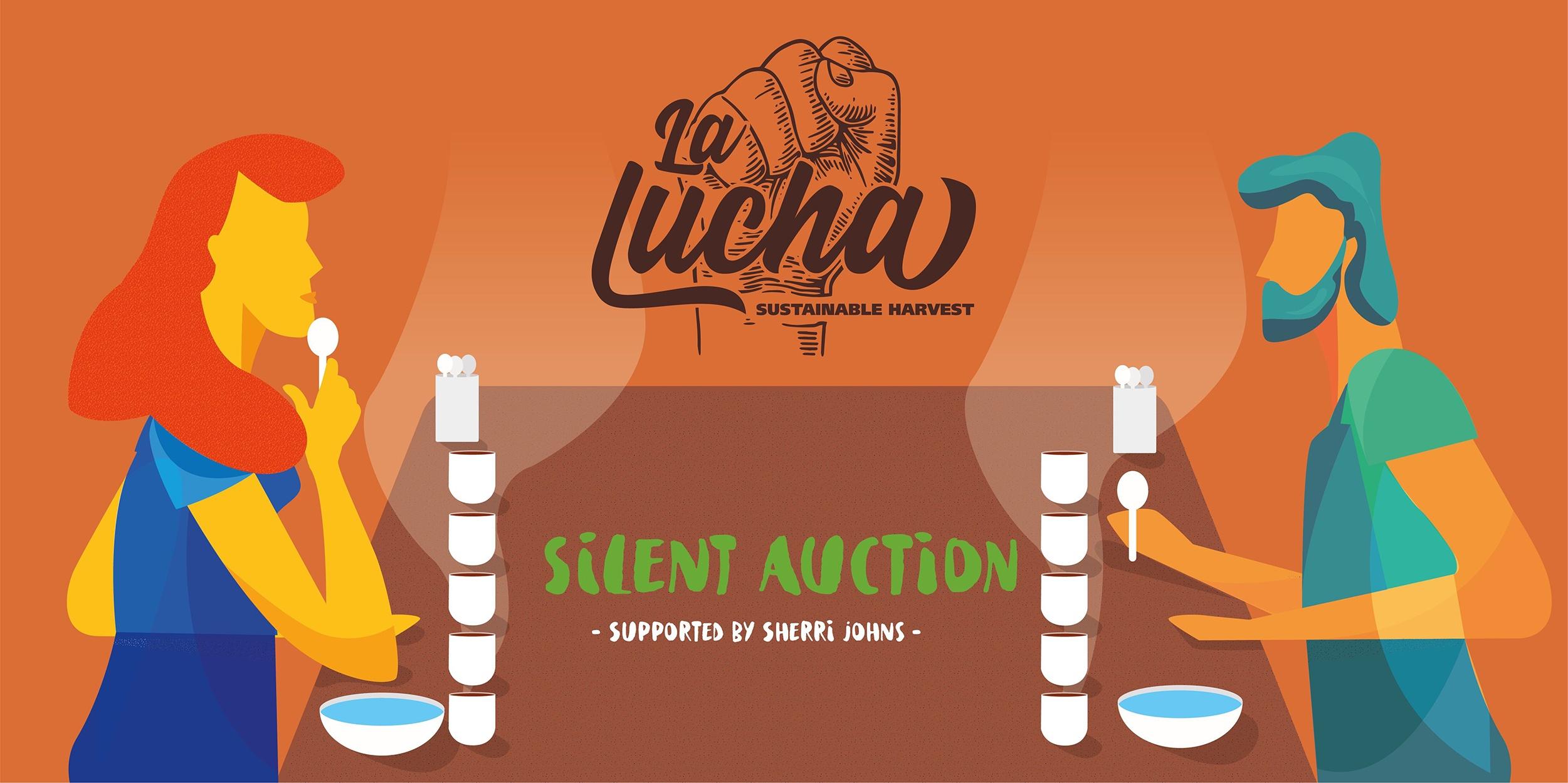 La Lucha Silent Auction