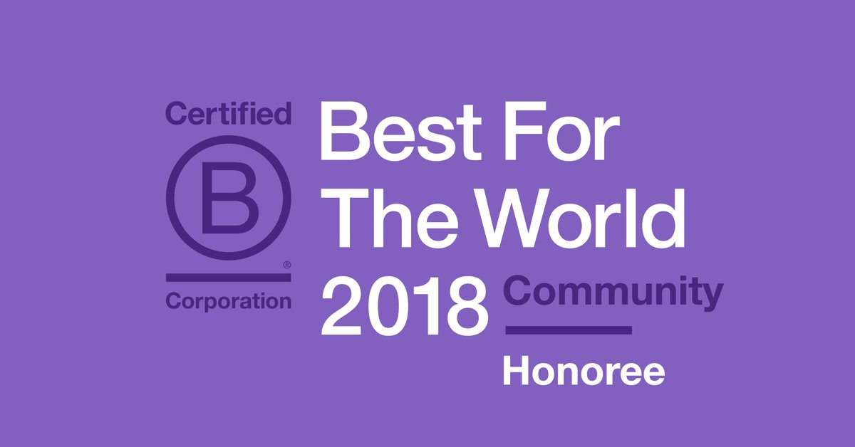 B Corp Best for the Community